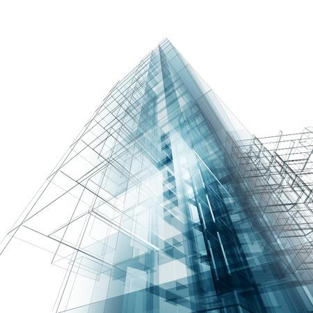 Stavebnictví architektury. Návrh architektury a model své vlastní Reklamní fotografie