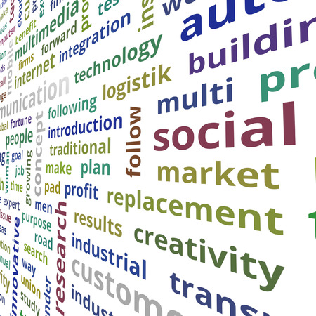 clear strategy: Profit concept text data illustration Stock Photo