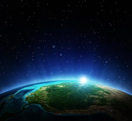 Earth from space. Archivio Fotografico