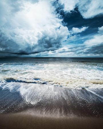 estado del tiempo: Tiempo Mar. Ciclón huracán tropical
