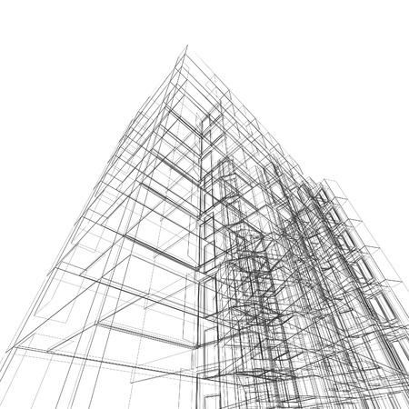 architecture design: Construction architecture. Architecture design and model my own