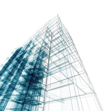 Architecture. Architecture design and model my own Foto de archivo