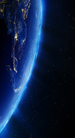 south east: South East Asia city lights. Elements of this image furnished by NASA Stock Photo