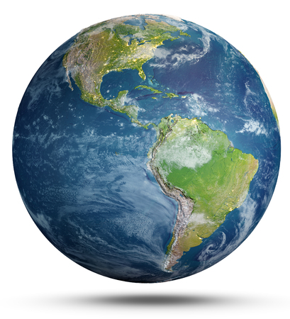 3d rendering of Planet Earth. Stok Fotoğraf