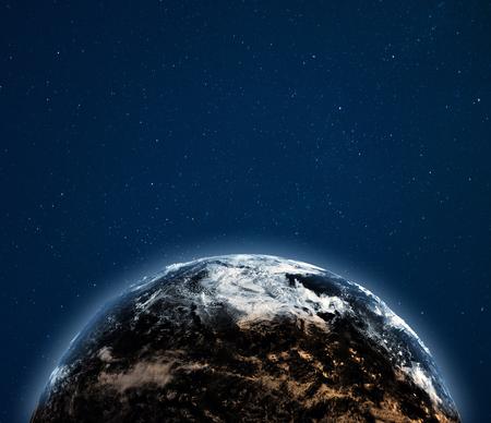 World globe weather background.