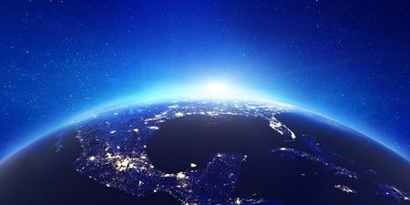 America city lights.
