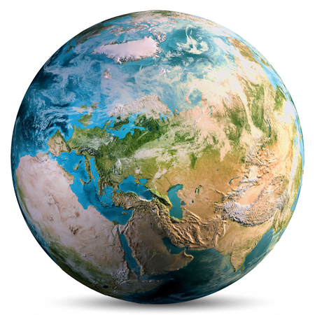Mundo planeta tierra.