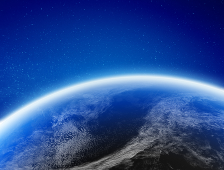 Climat de la Terre depuis l'espace.