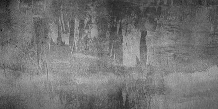 Old wallpaper panoramic background. Grunge wall texture