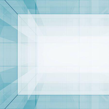 Cubes abstraits. Rendu 3D de l'arrière-plan de la vue conceptuelle