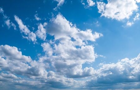 Summer sky. Tropical clear background