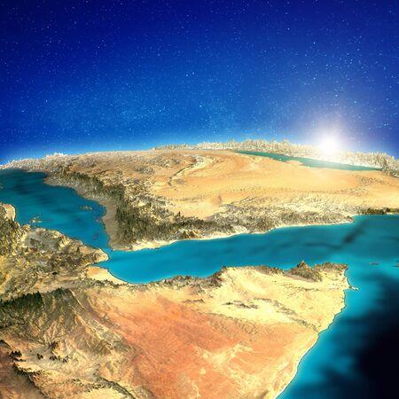 East Africa and Saudi Arabia background.
