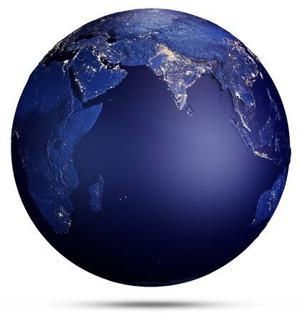 Planet Earth concept 3d rendering