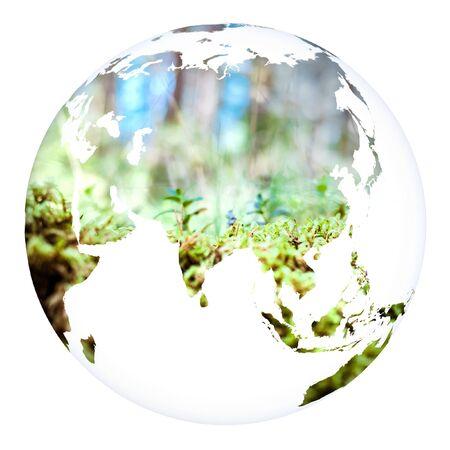 World concept planet Earth. Stok Fotoğraf