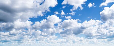 Summer sky and clouds atmosphere. Tropical day