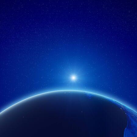 Planet Earth sunrise.