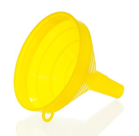 Yellow funnel
