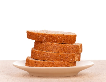 Slices of bread Stock Photo - 16267161