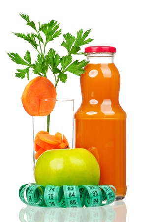 Carrot juice photo