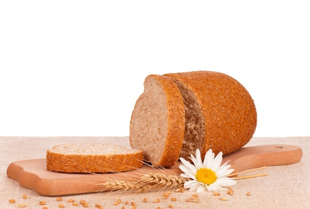 Bread with bran Stock Photo - 16267228