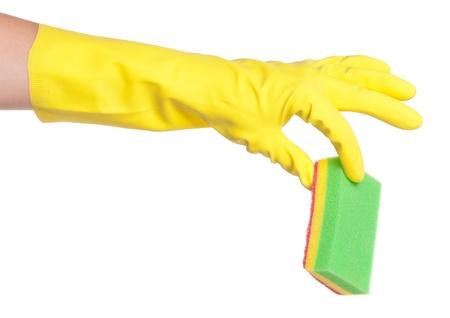 Hand in glove Stock Photo - 16267193