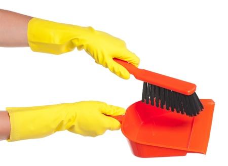 Hand in glove Stock Photo - 16267198