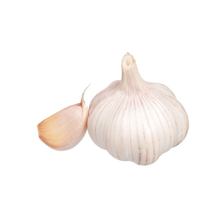 Garlic bulb Stock Photo