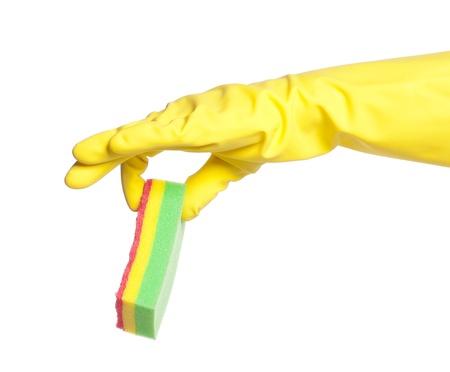 Hand in glove photo