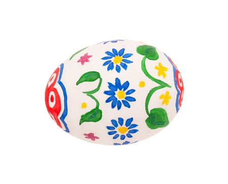 Decorated egg photo