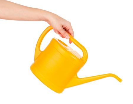 Watering can Reklamní fotografie - 18929804