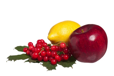 clean artery: Healthy fruits