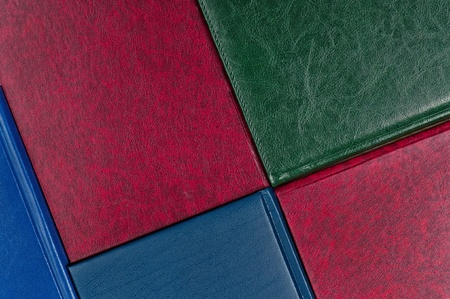 Background of books with colorful cover close-up Stock Photo