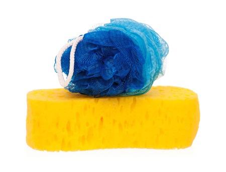New colorful bast whisps isolated on white background Stock Photo - 23204779