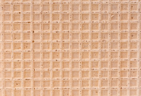 Wafer texture for background. Close up top view photo