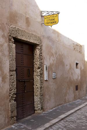 cisterna: Cisterna portuguesa en El Jadida, Marruecos
