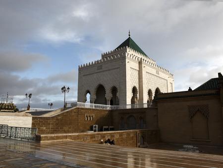 mohammed: Mausoleum of Mohammed V in Rabat, Morocco