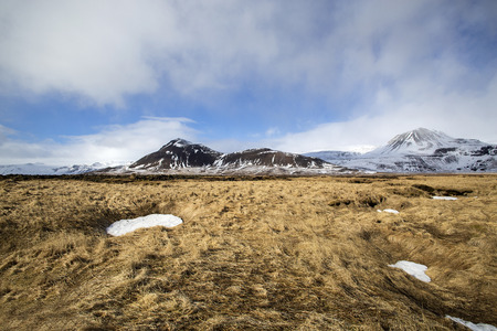 volcanic landscape: Impressive volcanic landscape on the Snaefellsnes peninsula in Iceland
