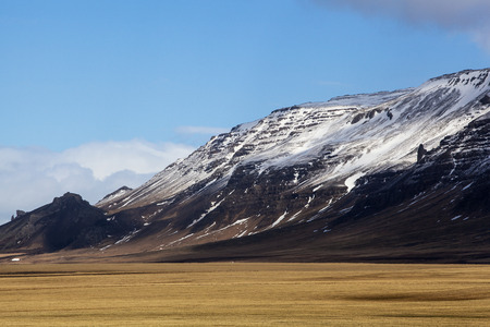 volcanic landscape: Impressiv volcanic landscape on the Snaefellsnes peninsula in Iceland