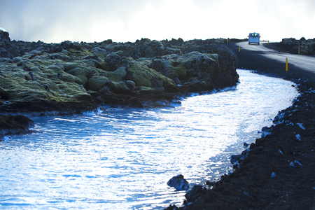 grindavik: Shuttle service to the  geothermal bath Blue Lagoon in Iceland