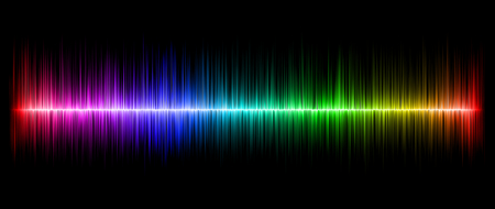 amplitude: Colorful abstract amplitude illustrated for background