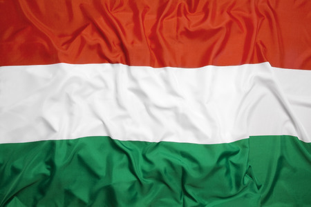 europe flag: Flag of Hungary as a background Stock Photo