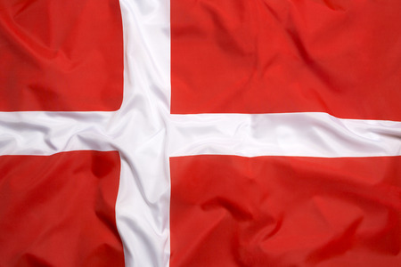Drapeau du Danemark comme arrière-plan