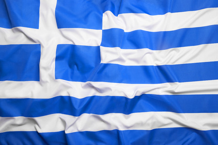 europe flags: Flag of Greece as a background Stock Photo