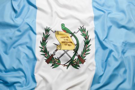 National flag of Guatemala for a background Standard-Bild