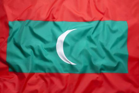 National flag of Maldives for a background Standard-Bild