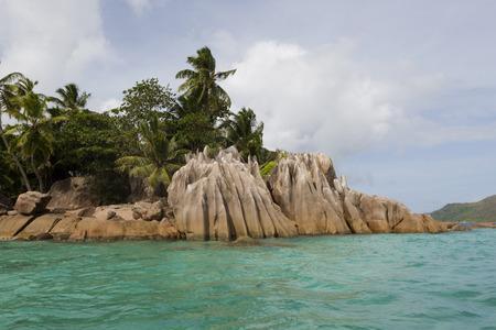 St. Pierre island, Seychelles, tropical paradise