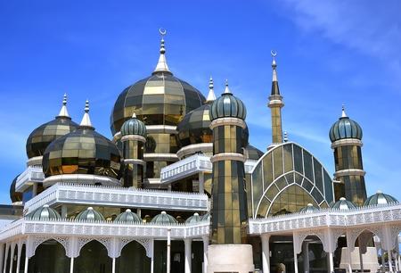 Crystal Mosque or Masjid Kristal in Kuala Terengganu