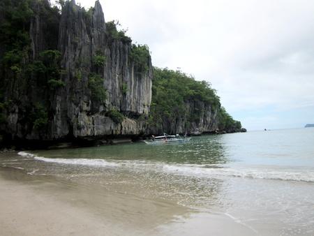 karst: Karst limestone shore Stock Photo