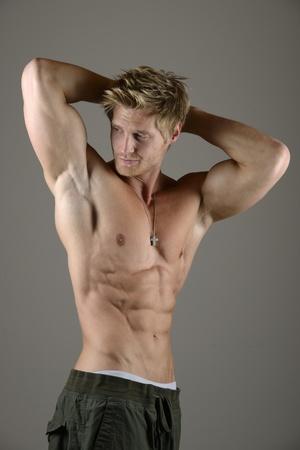 potent: Sportsman Abdominal Muscle