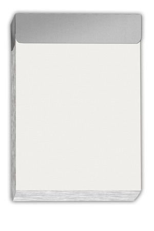 illustration of a blank tear off calendar illustration